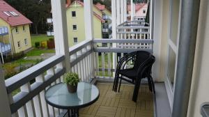 Balkon rechts
