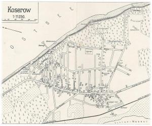Ortsplan um 1930